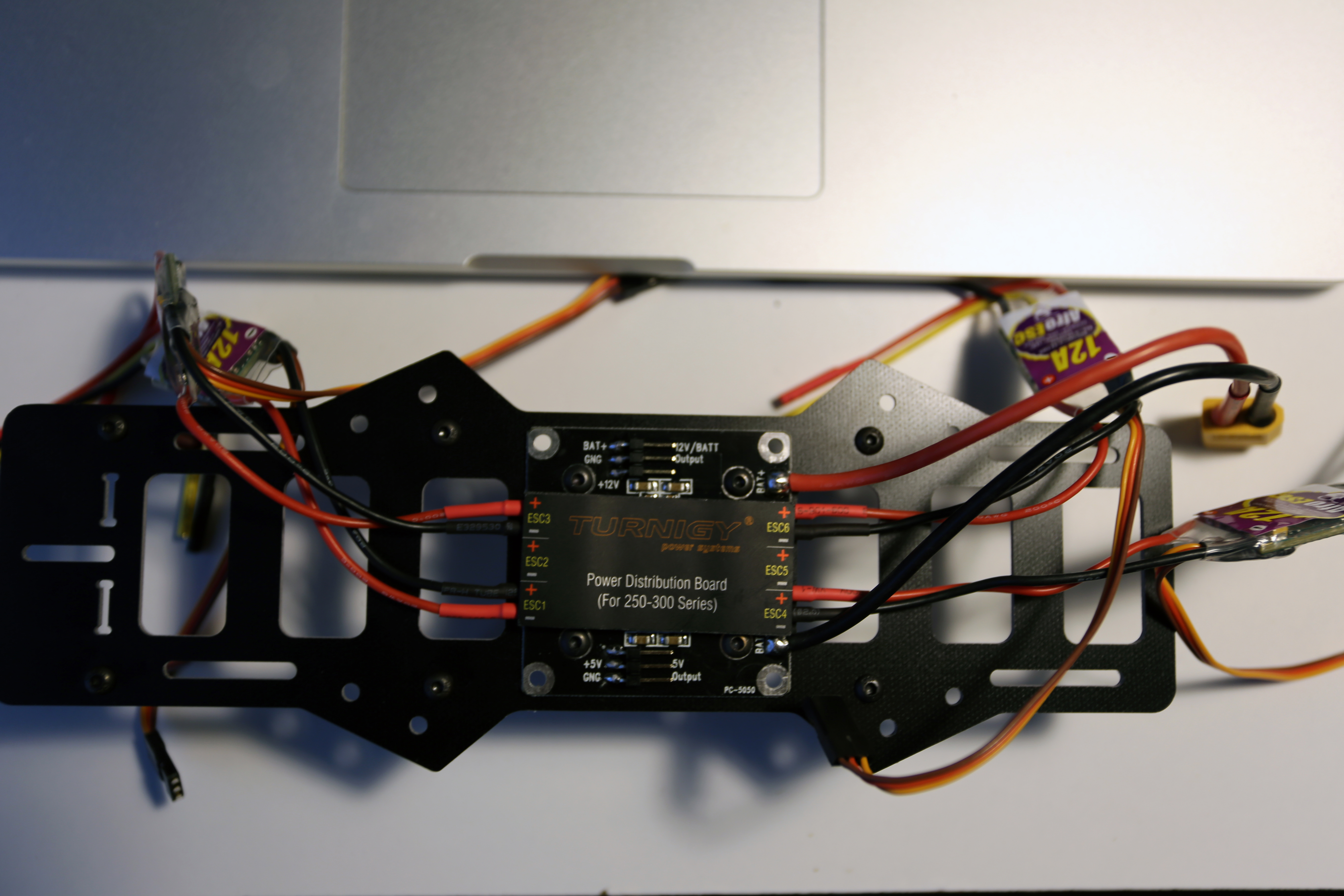 Quadcopter Wiring Distribution Board I Bought The Power On A Whim But It Ended Up Simplify Lot Of And Work Needed To Get This Together